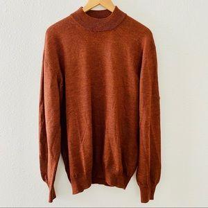 Gran Sasso Italy Crew Neck Wool Sweater XL
